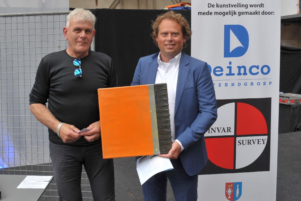 haringparty Vlissingen kunstveiling verloting