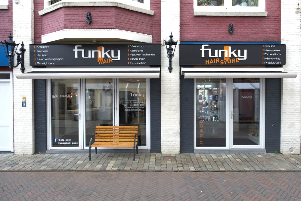 Funky Hair Kapsalon Kreukelmarkt Goes